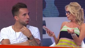 Matías Defederico y Yanina Latorre