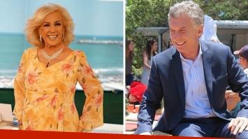 Mirtha Legrand confirmó que Mauricio Macri y María Eugenia Vidal irán a su cumpleaños