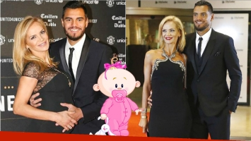 Nació la tercera hija de Eliana Guercio  y Sergio Romero (Fotos: Instagram)