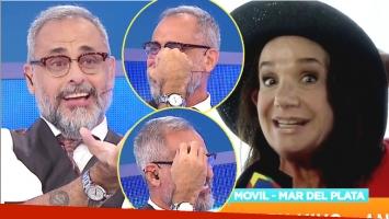 El piropo de Ana María Picchio que sonrojó a Rial en vivo (Fotos: Capturas)