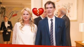Esmeralda Mitre y Darío Lopérfido confirmaron su separación, tras 3 años de matrimonio (Foto: Web)