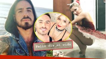 La primera muestra de amor 2.0 de Federico Bal a Laurita Fernández tras su reconciliación (Fotos: Web e Instagram Stories)
