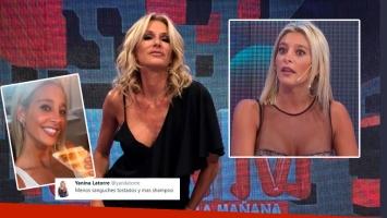 Yanina Latorre ¿trató de sucia a Sol Pérez?: Menos sándwich tostados y más shampoo