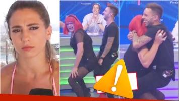 La reacción de Cinthia Fernández tras ver a Matías Defederico bailar reggaetón en televisión (Fotos: Capturas)