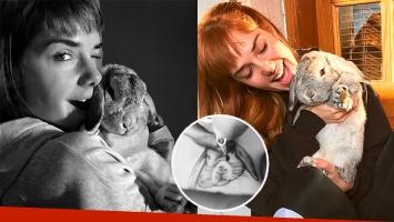 El tatuaje súper especial de Julieta Nair Calvo: ¡se hizo la carita de su conejo!