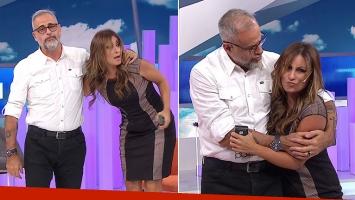 El cierre de Intrusos, tras la fuerte discusión de Jorge Rial y Marcela Tauro