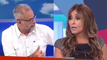 Tensión entre Jorge Rial y Marcela Tauro