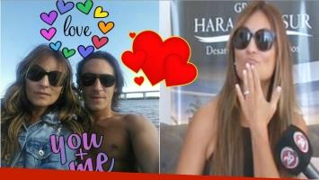 Marcela Tauro se comprometió con su novio, tras 1 año y 5 meses de noviazgo (Fotos: Instagram y Captura)