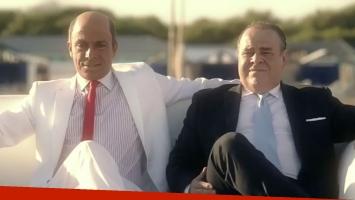 El emotivo homenaje de Martín Bossi a Alberto Olmedo, a 30 años de su muerte