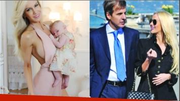 La reacción de Luciana Salazar tras los rumores de que su hija lleve el apellido de Redrado (Fotos: Instagram y Web)