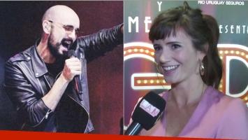 Griselda Siciliani habló de los rumores de romance con Abel Pintos (Fotos: Instagram y Captura)