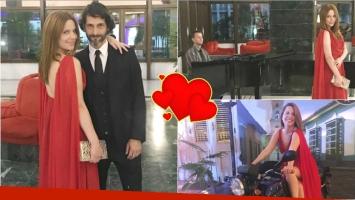 Las fotos de Agustina Kämpfer y su novio Carlos Gianella en un evento de gala en Cuba (Fotos: Instagram)