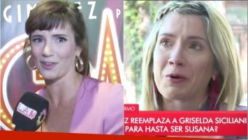 Laurita Fernández rompió en llanto tras escuchar las palabras de Griselda Siciliani (Fotos: Capturas)