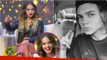 Ángela Torres se burló de la costumbre para las selfies de Franco Masini: Siempre tira boquita a lo loco