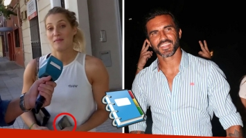 Mica Viciconte reveló cómo agendó a Fabián Cubero en su celular