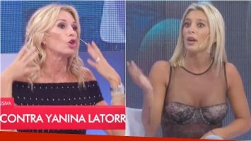 Yanina Latorre, picante con Sol Pérez en LAM:  Su pelo tenía la friturita arriba