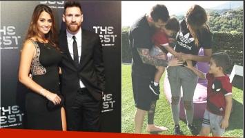 Nació Ciro, el tercer hijo de Lionel Messi y Antonella Roccuzzo (Fotos: Instagram)