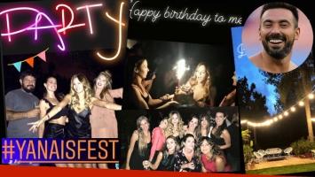 La súper fiesta de cumpleaños de Yanina Screpante
