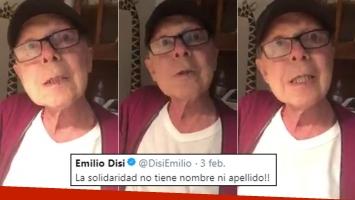 La última aparición pública de Emilio Disi, un mes y medio antes de morir