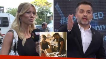 Angel de Brito, picante con Nicole Neumann por su reacción al rumor de affaire con Fede Hoppe