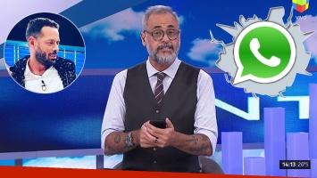 <p>La picante respuesta de Jorge Rial a Mariano Caprarola por el grupo de WhatsApp de Intrusos: S&oacute;lo est&aacute;n los...</p>