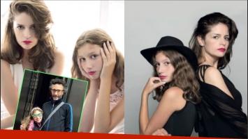 Margarita, la hija de Romina Ricci y Fito Páez debuta en el cine (Fotos: revista Gente)