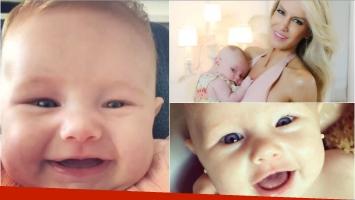 Luciana Salazar y su video súper tierno por los 3 meses de Matilda
