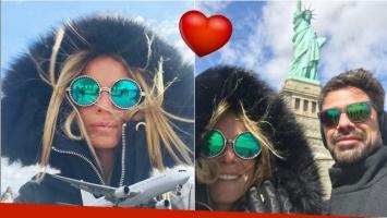 Sabrina Rojas y Luciano Castro, amor y vacaciones en Nueva York (Fotos: Instagram)