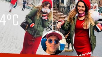 Los días de Silvina Luna en Nueva York tras separarse del Polaco: Así de feliz