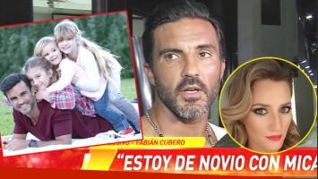 Fabián Cubero reveló cómo presentará oficialmente a Mica Viciconte como su novia (Fotos: Captura y Web)