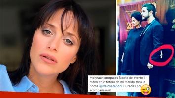 Pícaro comentario de Mónica Antonópulos