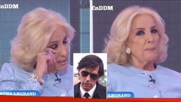 Mirtha Legrand lloró en El Diario de Mariana al recordar a su hijo, Daniel