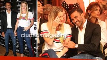 Mica Viciconte y Fabián Cubero, primera salida de novios oficial: puro mimo y glamour