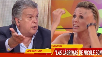 Picantísimo cruce de Luis Ventura con Denise Dumas: Estás haciendo un monólogo, entonces imponé tu criterio