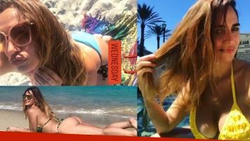 Belén Francese, diosa soltera en las playas de Miami. Foto: Instagram.