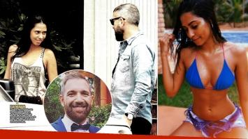 Pablo Duggan, de novio con Larissa Sorato. Foto: revista Paparazzi e Instagram