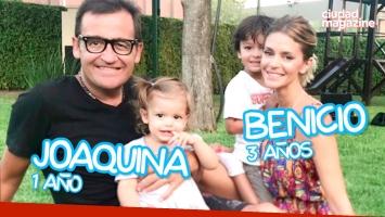 #ExpertxsEnPañales: Vanina Escudero y Álvaro Navia presentan a Benicio y Joaquina