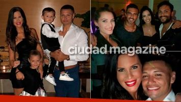 Natalie Weber le festejó al cumpleaños a Zárate ¡y Cubero asistió con Viciconte!