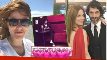 El piropo de Agustina Kämpfer a su novio (Fotos: Instagram)