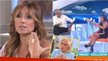 Marcela Tauro, sobre su cruce con Jorge Rial: En esos momentos lloro o me pongo como loca