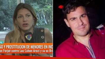 <p>Fuerte denuncia de Marian Farjat contra el manager Leo Cohen Arazi, imputado por corrupci&oacute;n de menores en...</p>