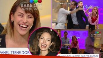 Connie Ansaldi contó que la confunden con Angelina Jolie... ¡y provocó que todos se levanten de Cortpa por Lozano!