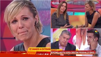 La despedida de Denise Dumas de Infama: Me voy feliz, podría haber hecho el programa toda mi vida