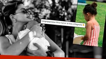 La hija mayor de la China Suárez hizo a su hermanita con plastilina