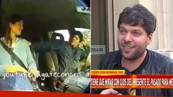 Guido Kaczka: el video en el que Romina Yan refería un acoso de Gabriel Corrado