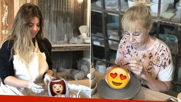 Dalma Maradona hizo con sus propias manos el delicado souvenir de boda