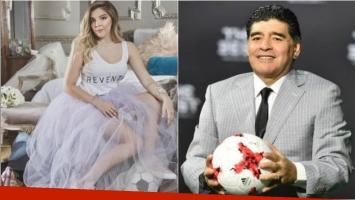 Claudia Villafañe y Gianinna llevaron a Dalma Maradona al altar tras la ausencia de Diego