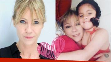 Inés Estévez y su tierno video enseñándole los números a su hija, Vida
