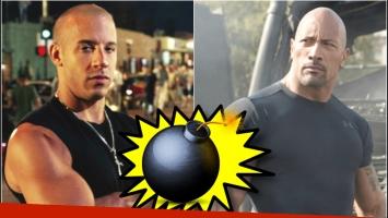 El sincericidio de Dwayne Johnson sobre Vin Diesel (Fotos: Web)