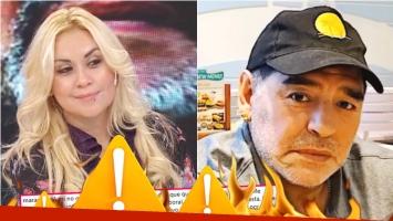 El descargo de Maradona tras revelar que le iniciará acciones legales a Ojeda (Fotos: Captura e Instagram)